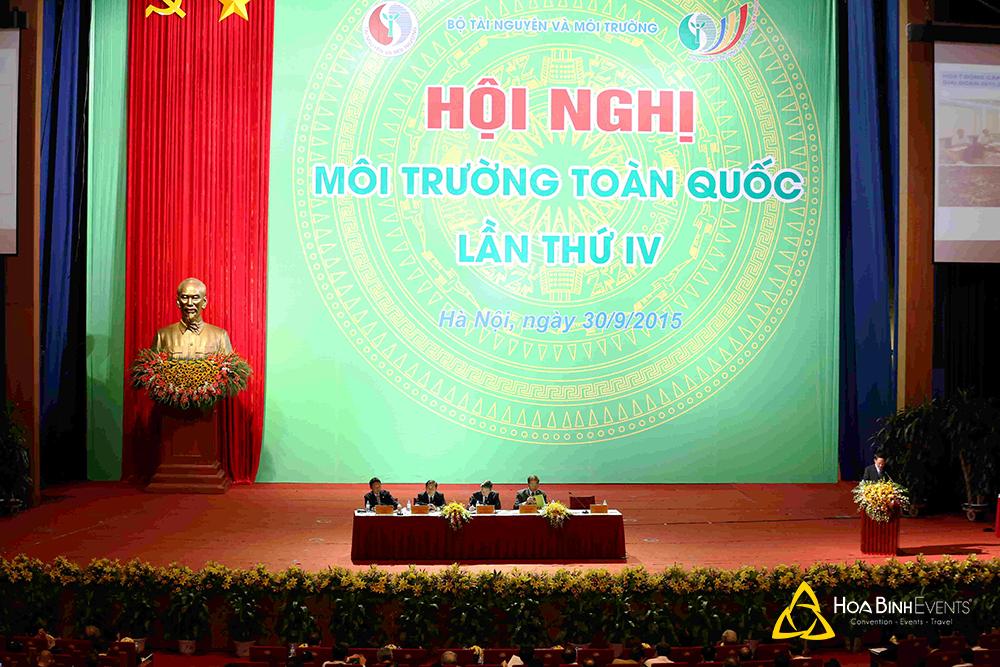 Phiên toàn thể Hội nghị Môi trường toàn quốc lần thứ IV