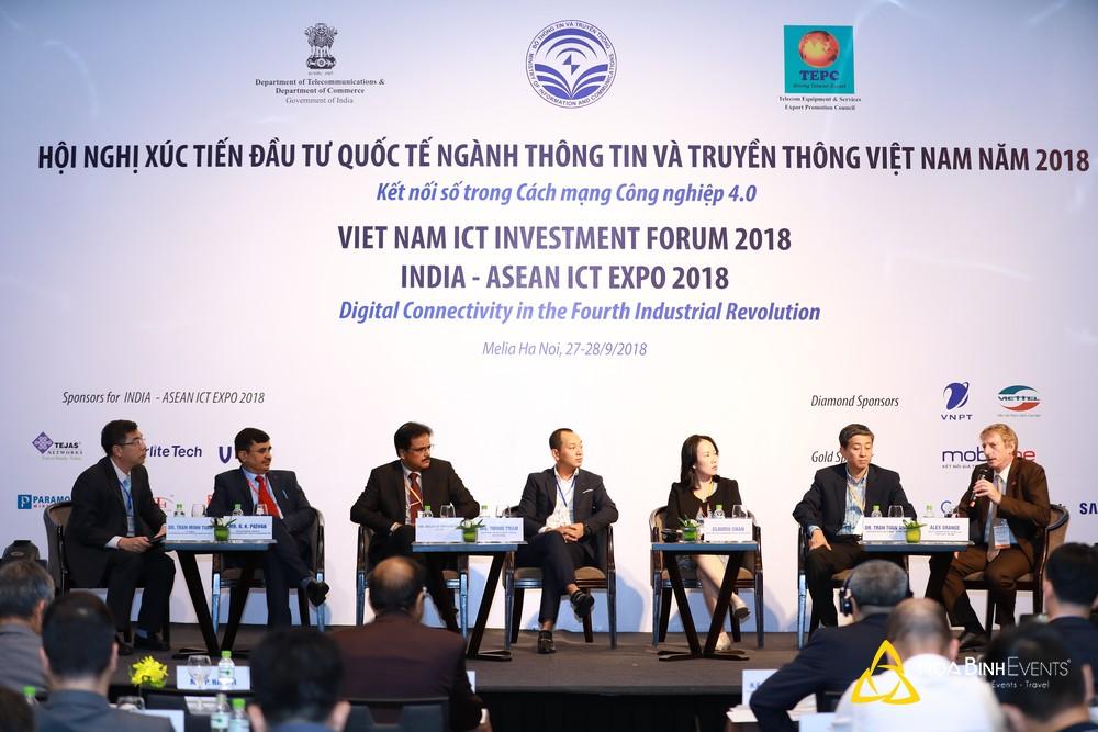 Hội nghị Xúc tiến đầu tư Quốc tế ngành Thông tin và Truyền thông Việt Nam năm 2018
