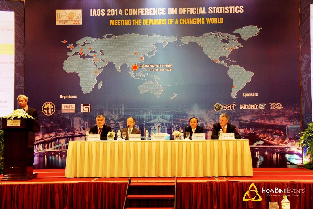 IAOS 2014: Hội nghị Hiệp hội quốc tế về Thống kê chính thức năm 2014