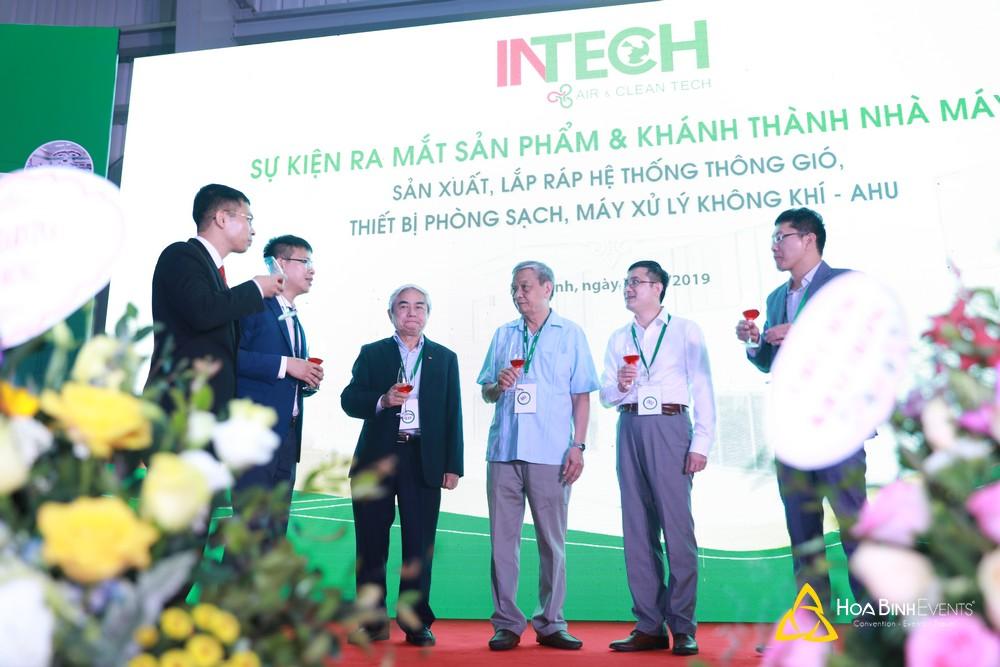 Sự kiện ra mắt sản phẩm và khánh thành nhà máy Intech 2019