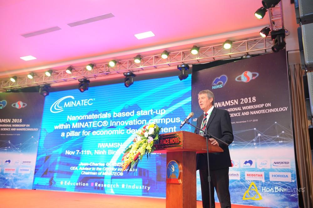 IWAMSN 2018 - Hội nghị quốc tế về Khoa học Vật liệu Tiên tiến và Công nghệ Nano lần thứ 9
