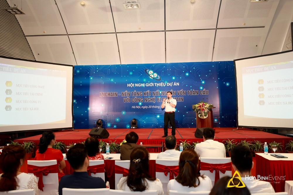 Hội nghị ra mắt dự án Izichain - Nền tảng kết nối nguồn vốn toàn cầu với công nghệ Blockchain