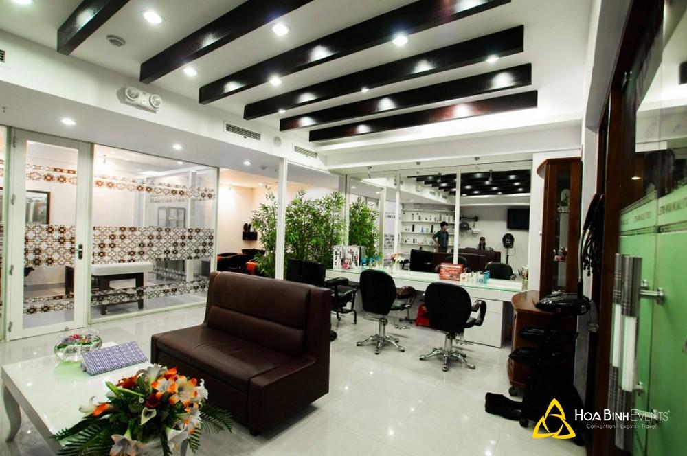 cửa hiệu làm tóc khách sạn kaya phú yên