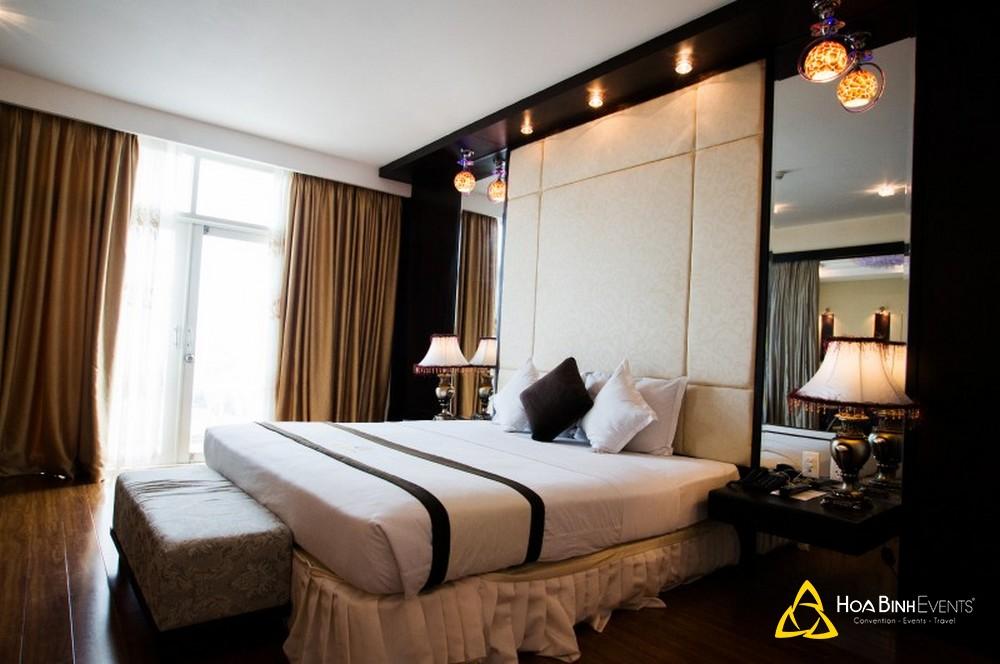 phòng deluxe khách sạn kaya phú yên