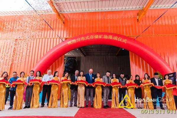 Lễ khánh thành nhà máy R3V tại Đà Nẵng