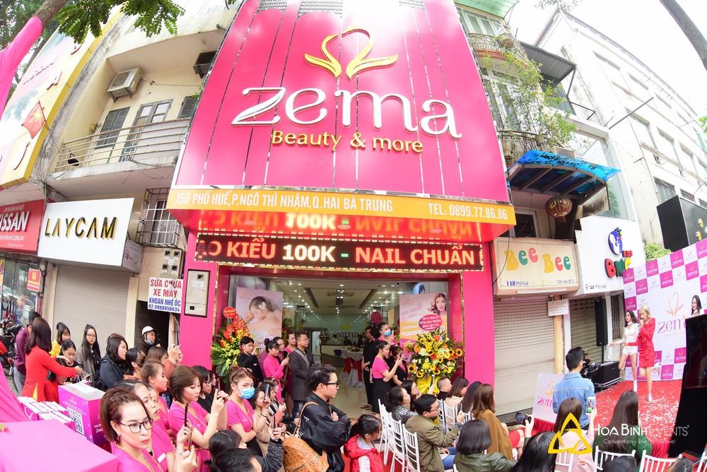 Lễ Khai Trương ZEMA Beauty & Spa