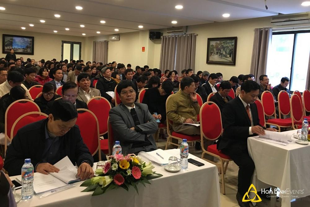 Tổ chức hội nghị tại Khách sạn Thể Thao Hà Nội