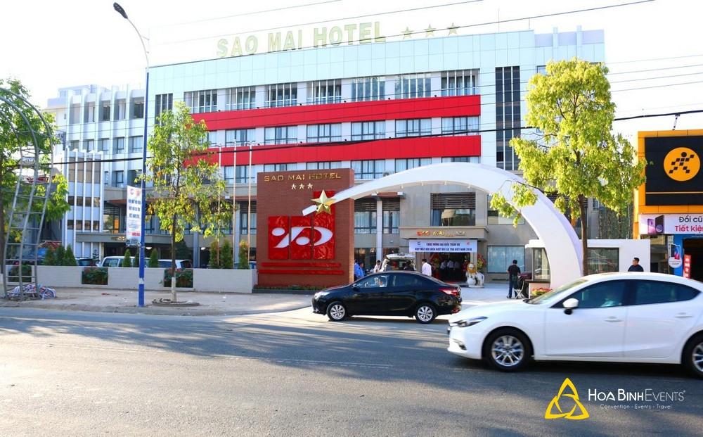 Tổ chức hội nghị tại khách sạn Sao Mai Đồng Tháp