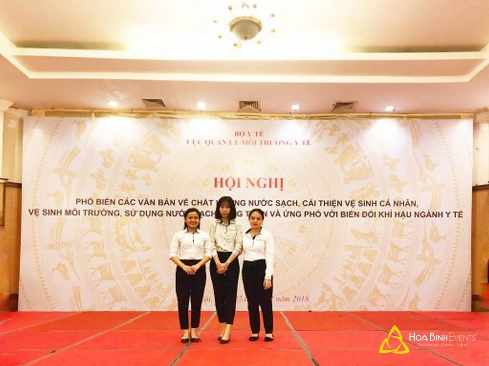 Tổ chức hội nghị quy mô 200 khách tại khách sạn La Thành
