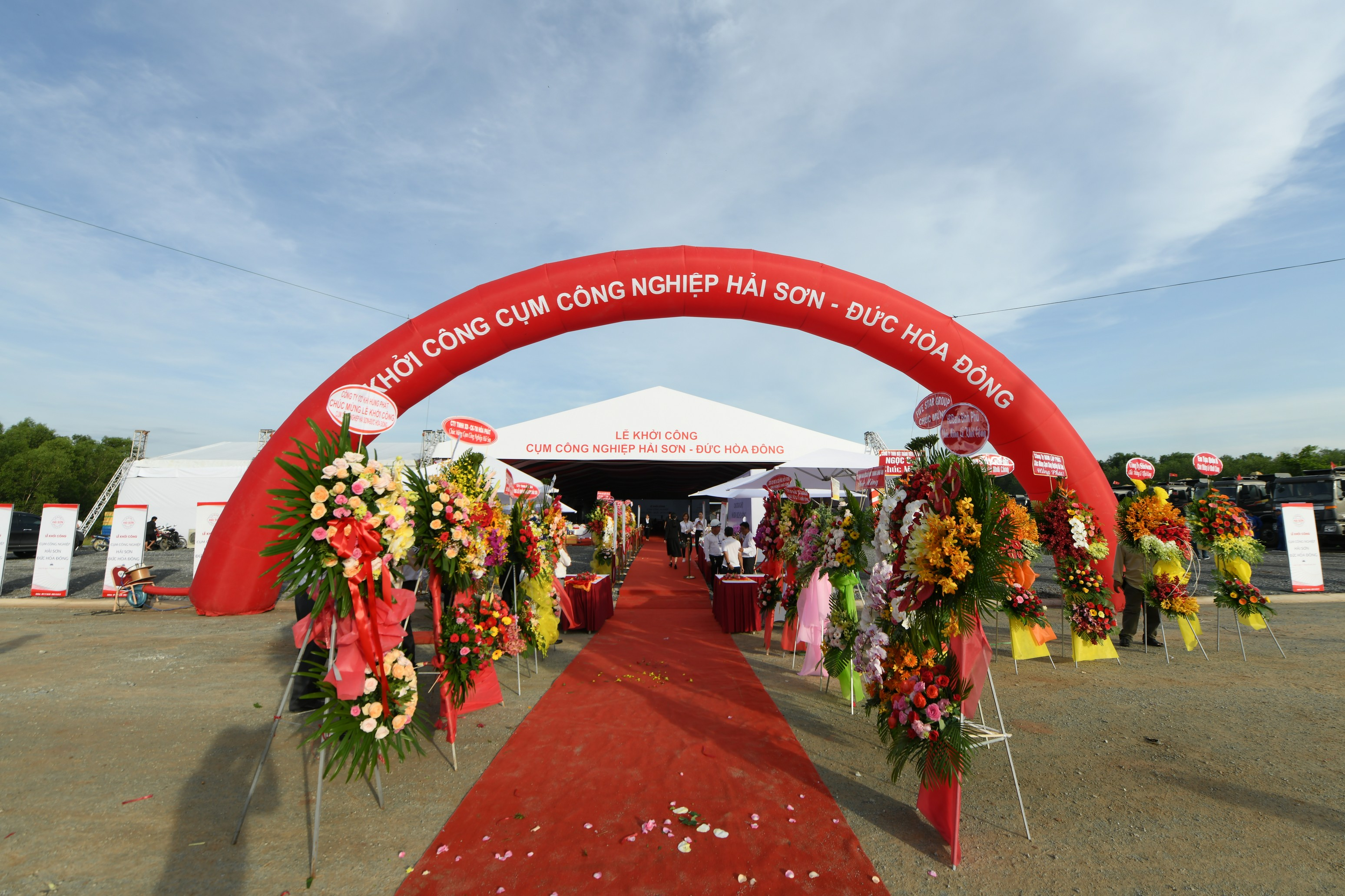 Lễ Khởi công cụm công nghiệp Hải Sơn - Đức Hoà Đông - Long An