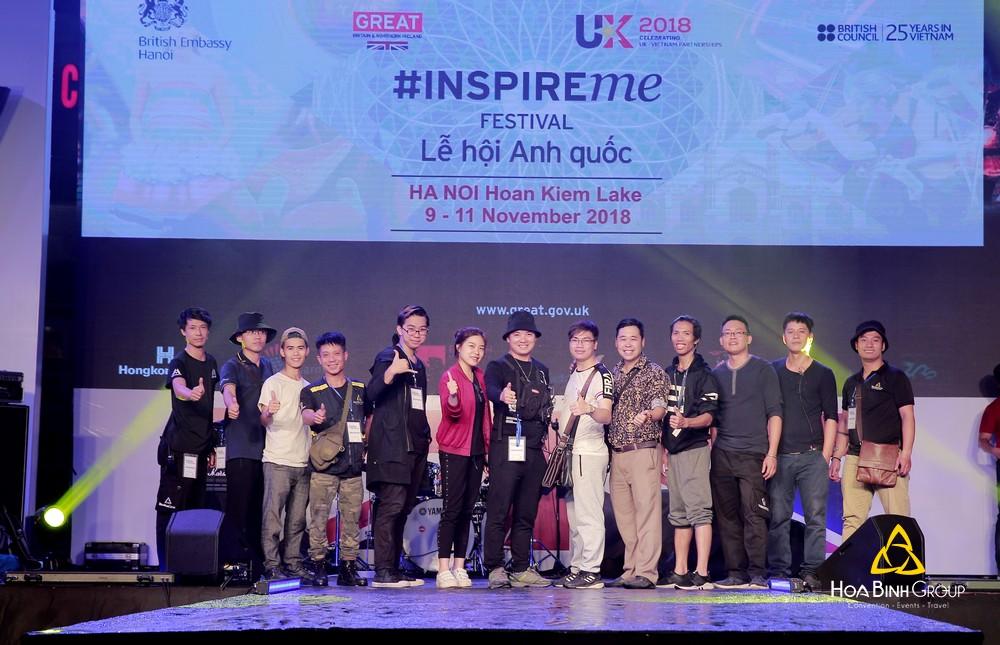 Lễ Hội Anh Quốc - InspireMe Festival 2018