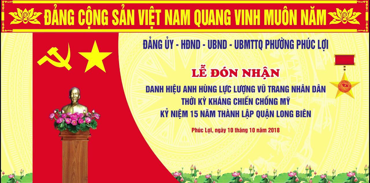 Video highlight Lễ kỷ niệm 15 năm thành lập quận Long Biên