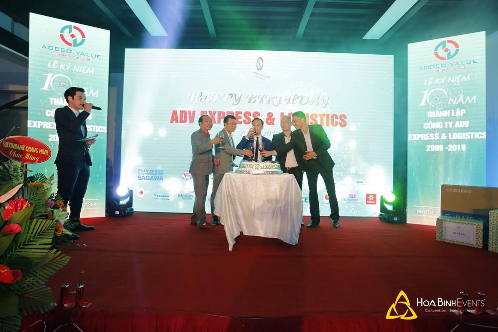 Lễ Kỷ Niệm 10 Năm Thành Lập Công Ty ADV Express & Logistics 2009 -2019