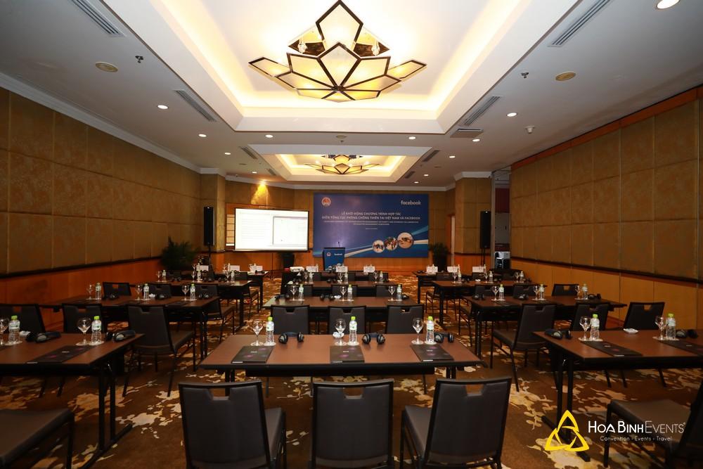 Lễ khởi động chương trình hợp tác giữa Tổng cục phòng chống thiên tai Việt Nam và Facebook