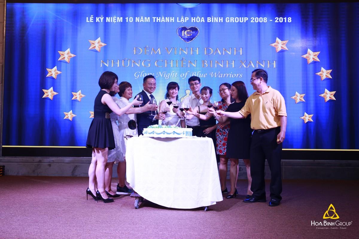 Những ký ức khó quên trong Lễ kỷ niệm 10 năm thành lập Hoabinh Group