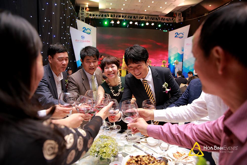 tiệc tri ân khách hàng Air Liquide