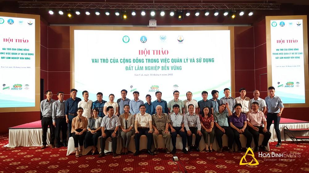 Tổ chức hội nghị tại khách sạn Mường Thanh Grand Lào Cai
