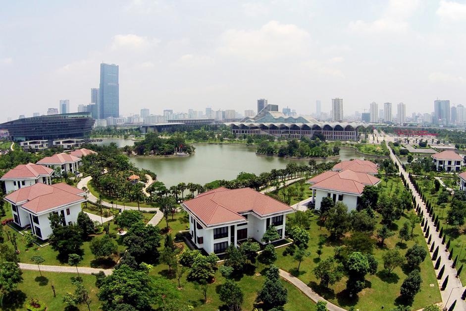 Garden Villas là khu biệt thự cao cấp nằm trong khuôn viên Trung tâm Hội nghị Quốc gia