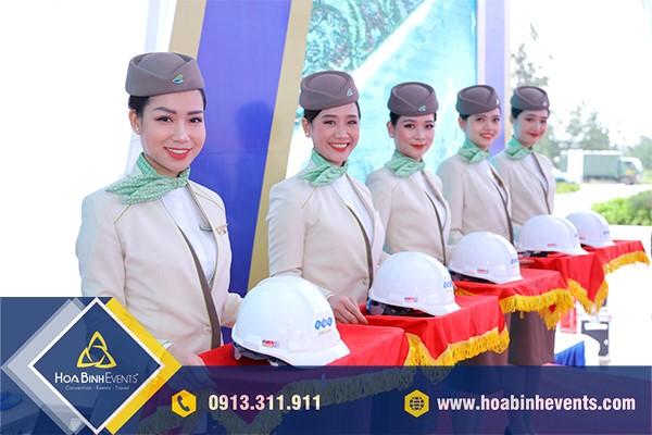 HoaBinh Events cung cấp nhân sự phục vụ sự kiện chuyên nghiệp