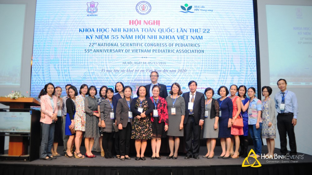 Hội thảo khoa học Nhi khoa toàn quốc lần thứ 22 - Kỷ niệm 55 năm Hội Nhi khoa Việt Nam 2016