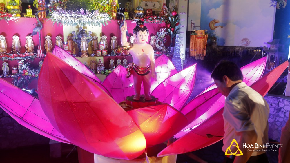 Đại Lễ Phật Đản Chùa Cổ Pháp Bắc Ninh 2018