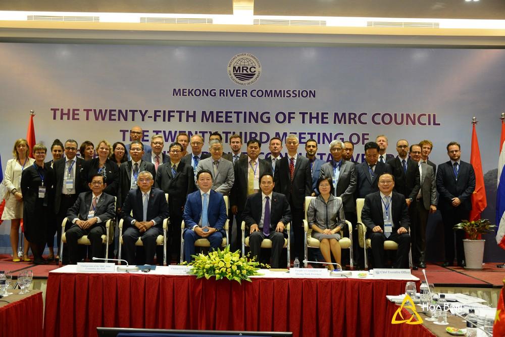 Phiên Họp Hội Đồng Lần Thứ 25 Của Ủy Ban Sông Mekong (MRC)
