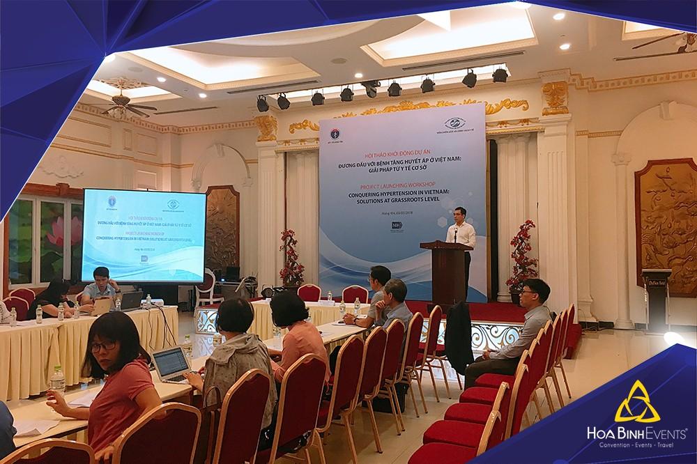 Hội thảo khởi động dự án Đương đầu với bệnh tăng huyết áp ở Việt Nam