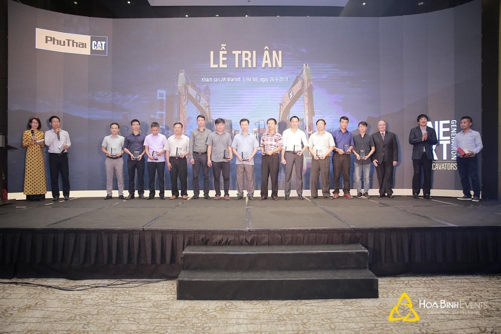 Lễ tri ân và ra mắt sản phẩm mới của Phu Thai CAT 2018