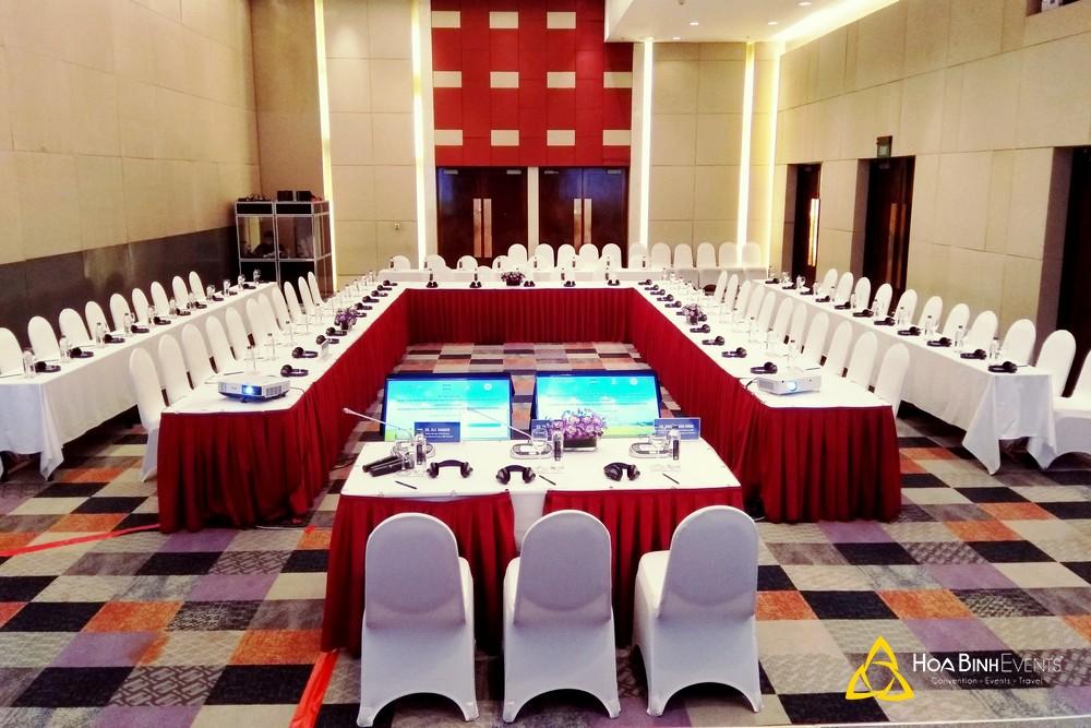 tổ chức sự kiện hội nghị tại khách sạn Pullman Hà Nội