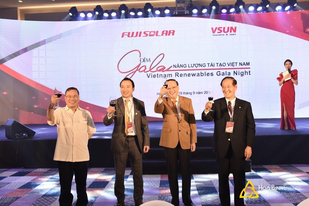 Gala Dinner Hợp tác kinh tế thương mại Việt Nhật VSUN