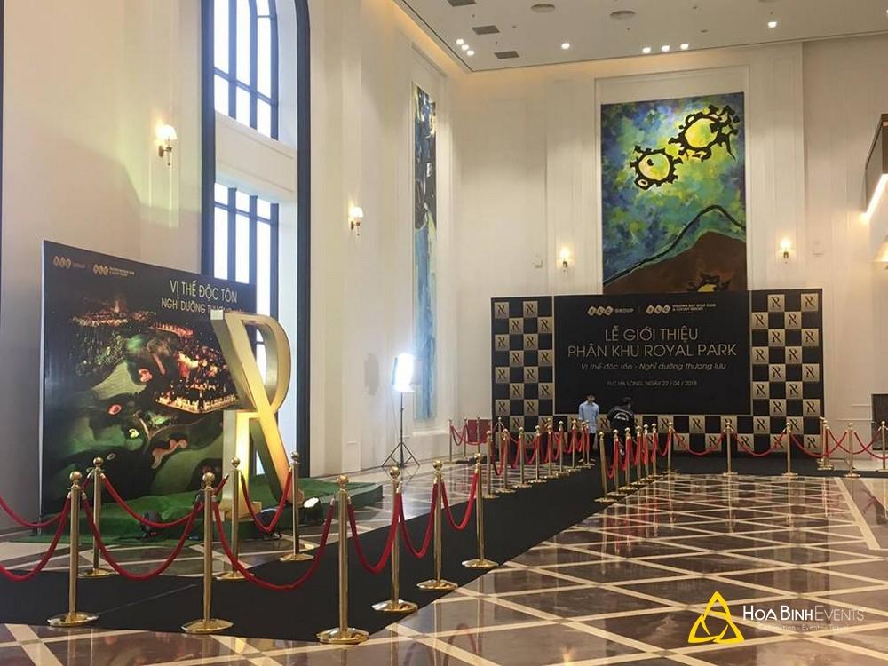 lễ giới thiệu royal park