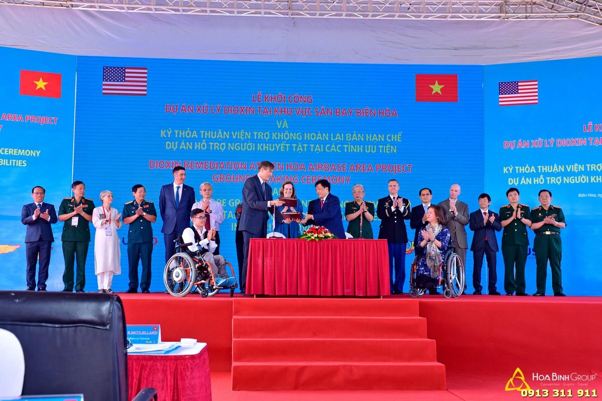 Lễ khởi công xây dựng Dự án xử lý dioxin tại Sân bay Biên Hòa