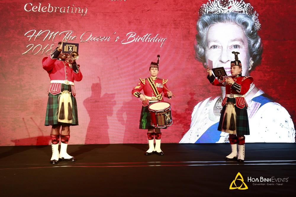 Sinh nhật 92 tuổi của Nữ hoàng Anh Elizabeth II tại Sheraton Hanoi Hotel