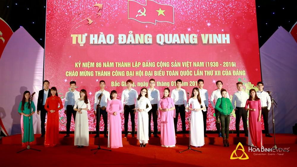 Biểu diễn nghệ thuật tại Bắc Giang