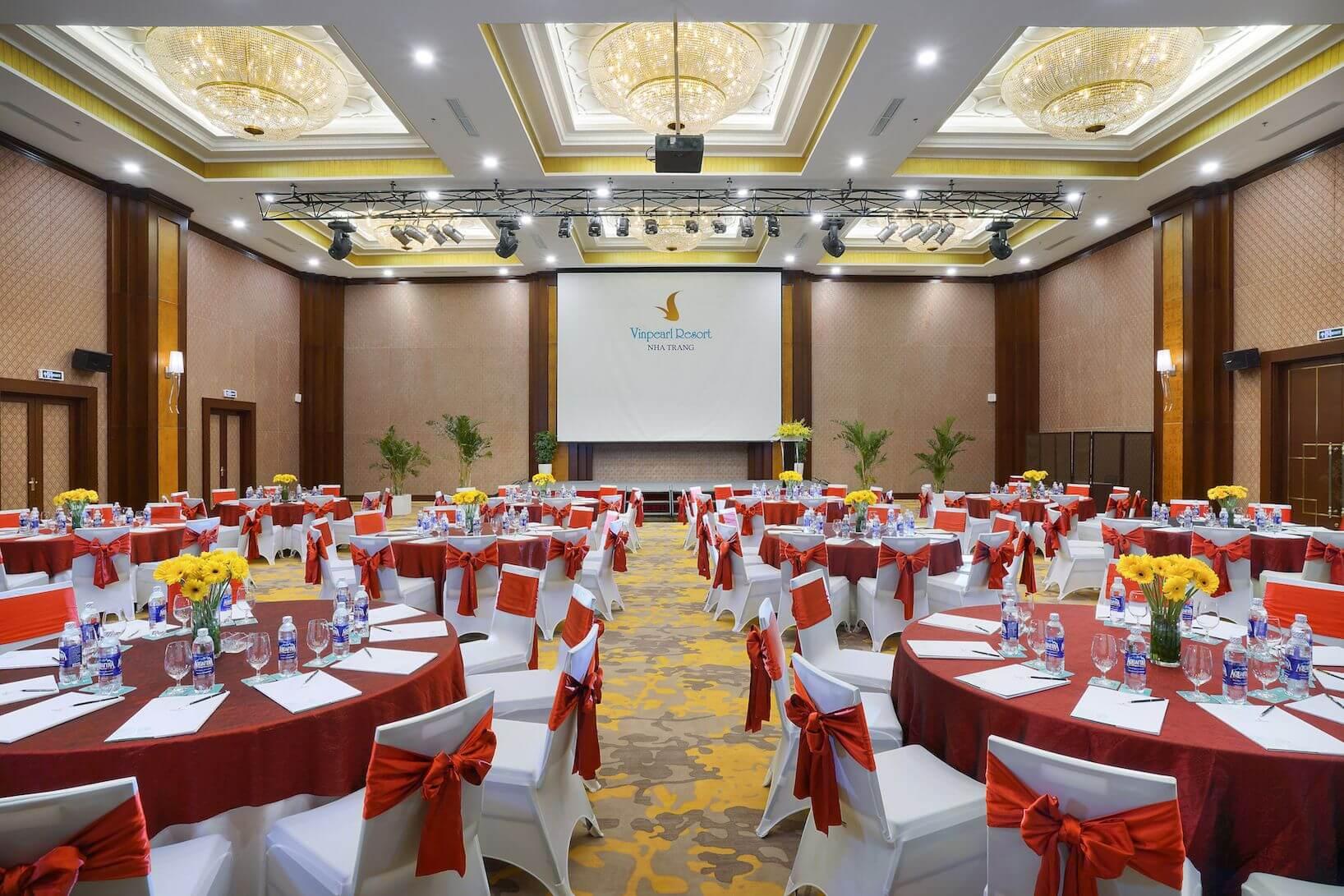 Phòng họp ballroom tại vinpearl nha trang