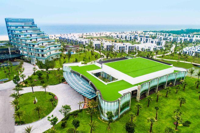 Toàn cảnh trung tâm hội nghị tại Vinpearl resort & golf Nam Hội An