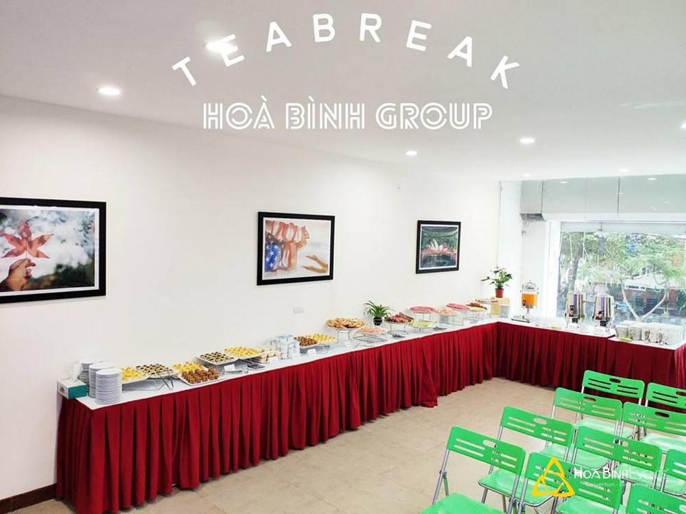 dịch vụ tea break hà nội 0913 311 911