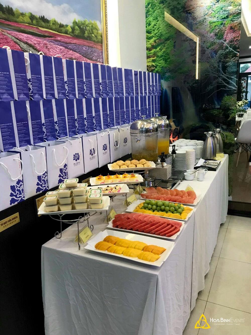 dịch vụ tiệc tea break hoabinhevents.com
