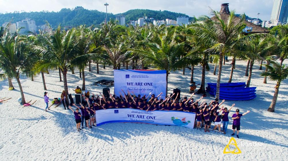 Team Building Đại học Ngoại Ngữ - Đại học Quốc gia Hà Nội