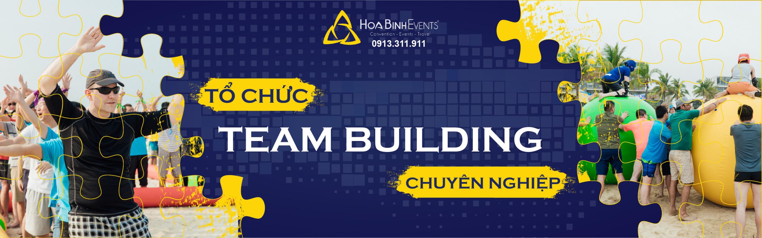 Tổ chức team building doanh nghiệp