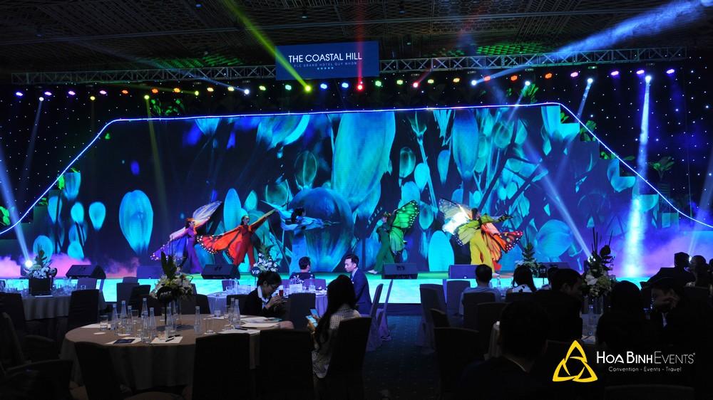 ánh sáng âm thanh sân khấu tiệc gala dinner