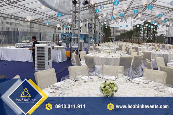 HoaBinh Events cho thuê điều hoà cây uy tín