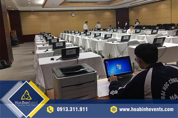 Cho thuê máy in, máy photocopy phục vụ sự kiện, hội nghị đảm bảo chất lượng