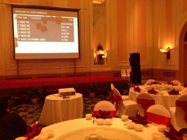 Hòa Bình Events địa chỉ cho thuê dàn karaoke chất lượng