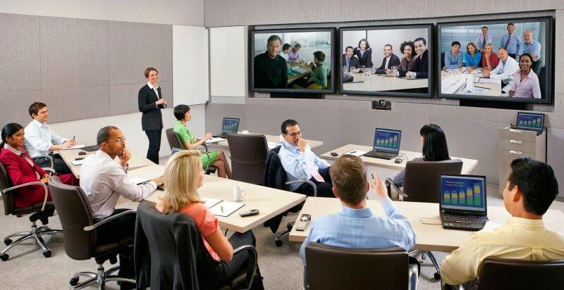 Thuê thiết bị hội nghị truyền hình cho những cuộc hội họp từ xa