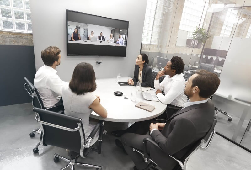 thiết bị hội nghị truyền hình trực tuyến giải pháp tối ưu mùa dịch