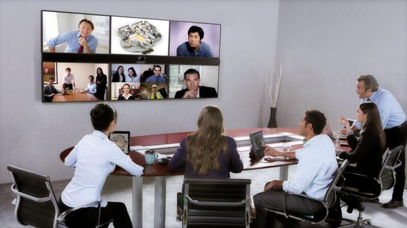 thiết bị trực tuyến kết nối tương tác đồng thời từ xa