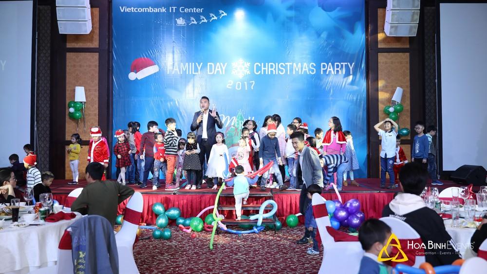 Hoabinhevents tổ chức tiệc giáng sinh