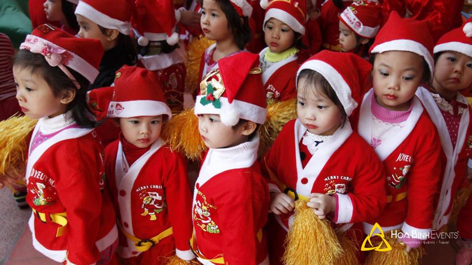 tổ chức lễ giáng sinh