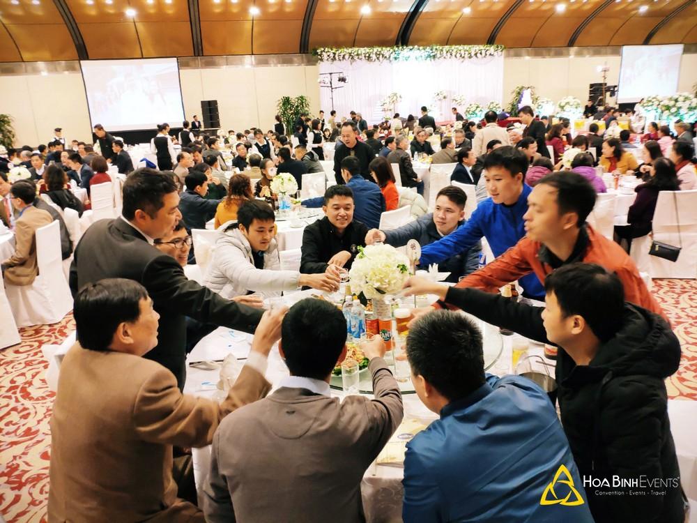 tổ chức tiệc cưới tại NCC